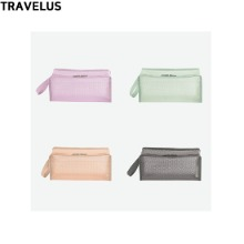 TRAVELUS Coated Mesh Pouch Cube Long 1ea
