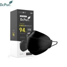 DR.PURI KF94 Black Dust Mask (Large) 20ea