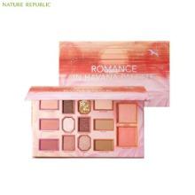NATURE REPUBLIC Romance In Havana Palette Shadow & Blusher 18.5g
