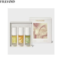 FILLVOID Perfumed Body Oil Mist Discovery Set 3items [Fleurs Edition]