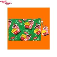 WIGGLE WIGGLE Cotton Pattern Funky Pouch - Best Friend (MP-027) 1ea