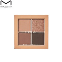 MACQUEEN NEWYORK Tone-On-Tone Shadow Palette Pro Four 3.8g