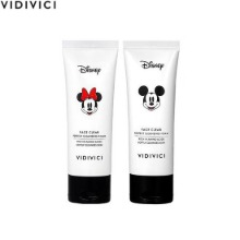 VIDIVICI Face Clear Perfect Cleansing Foam Duo 60ml*2ea [VIDIVICI x DISNEY]