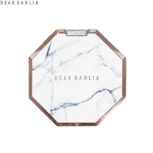 DEAR DAHLIA Crystal Shine Marble Hand Mirror 1ea