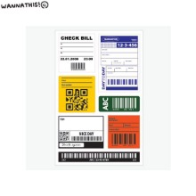 WANNATHIS Removable Sticker 1ea,Beauty Box Korea,Other Brand,Other