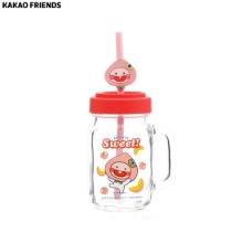 KAKAO FRIENDS Little Fruity Friends Silicon Lid Drink Jar 1ea