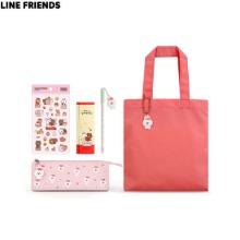 LINE FRIENDS Brown & Friends Mini Eco Bag Set 6items