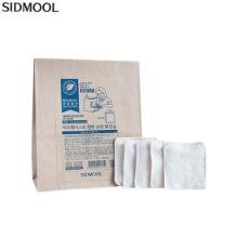 SIDMOOL Zero Waste Natural Pure Cotton Pad 5sheets