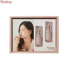 MAINY Perfect Matte Plumping Base Lipstick Limited Box 2items