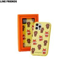MAISON KITSUNE X LINE FRIENDS Collection Pattern iPhone Case 1ea