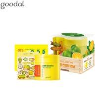 GOODAL X SUNUP Green Tangerine Vita C Toner Pad 100pads Set 5items [Limited Edition]