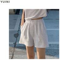 YUINI [Nearli] Plain Embroidered Shorts 1ea,Beauty Box Korea,Other Brand,Other