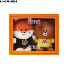 MAISON KITSUNE X LINE FRIENDS Collection Doll Set 3items