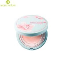 SECRET NATURE Cherry Blossom Pink Tone Up Sun Cushion SPF50+ PA++++ 20g