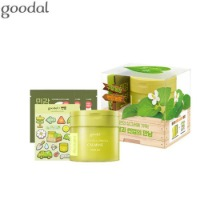 GOODAL X SUNUP Houttuynia Cordata Calming Toner Pad 100pads Set 5items [Limited Edition]