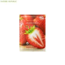 SECRET NATURE Strawberry Mask Sheet (Tone Up) 25ml