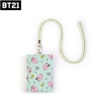 BT21 Baby Velcro Wallet Little Buddy 1ea [BT21 X MONOPOLY]