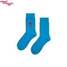 WIGGLE WIGGLE Embroidery Socks 1ea