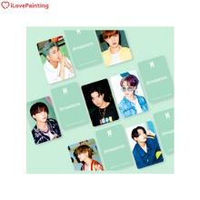 I LOVE PAINTING [BTS] Cubic Painting_4 Kit 8items [DYNAMITE]
