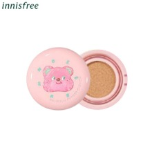 INNISFREE X CAFE KNOTTED No-Sebum Powder Cushion 14g*2ea [Limited Edition]