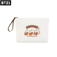 BT21 X MONOPOLY BT21 Baby Canvas Pouch [L] 1ea [Jelly Candy]