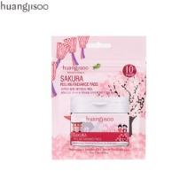 HUANGJISOO Sakura Peeling Radiance Pads 10pcs/36g
