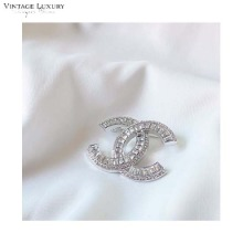 VINTAGE LUXURY Silver brooch (CH0215B01) 1ea,Beauty Box Korea,Other Brand,Others