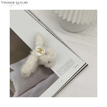 VINTAGE LUXURY White Hair Clip (CH0237HB01) 1ea,Beauty Box Korea,Other Brand,Other
