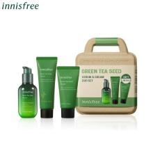 INNISFREE Green Tea Seed Serum & Cream Duo Set 3items