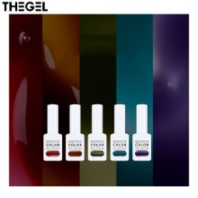 THE GEL Clear Color Gel Set 5items [Deep Blue Edition],Beauty Box Korea,Other Brand,Other