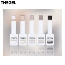 THE GEL Monotone Achromatic Color Syrup Gel Set 5items [Mono Syrup Edition] (#116~#120),Beauty Box Korea,Other Brand,Other