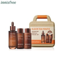 INNISFREE Black Tea Youth Enhancing Ampoule Special Set 3items