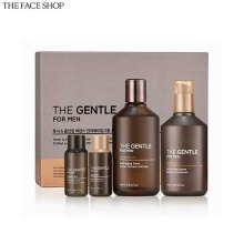 THE FACE SHOP The Gentle For Men All-In-One Anti-Aging Skincare Gift Set 4items