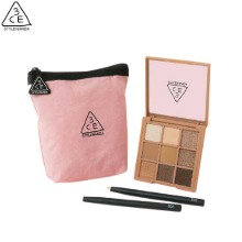 3CE Multi Eye Palette With Brush & Pouch Set 3items