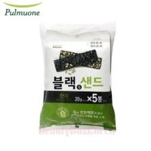 PULMUONE Crispy Seaweed Snack Brown Rice 20g*5ea,PULMUONE