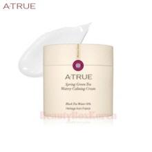 A-TRUE Spring Green Tea Watery Calming Cream 80g,Atrue