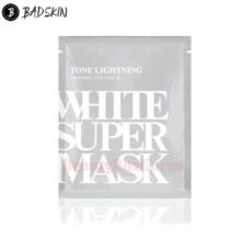 BAD SKIN Tone Brightning White Super Mask 25ml,BADSKIN