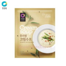 CHUNGJUNGONE Korean Rice Cream Soup 60g*10ea,CHUNG JUNG ONE