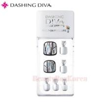 DASHING DIVA Magic Press Pedicure Prism Piece 1set,DASHING DIVA