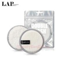 LAPCOS Double Wash Cleansing Pad 1Set,LAP