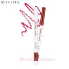 MISSHA Silky Lasting Lip Pencil 0.25g,MISSHA