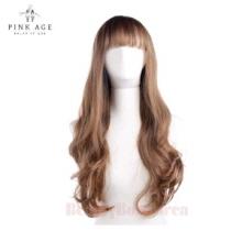 PINKAGE Girlish Long wave Gradation (lex Yarns) Forelock 13cm + 62cm,PINK AGE