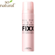 SO NATURAL All Day Makeup Fixer 75ml,Own label brand