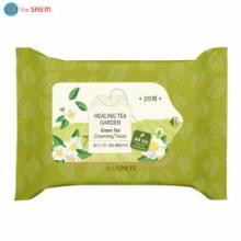THE SAEM Healing Tea Garden Green Tea Cleansing Tissue 20ea,THE SAEM