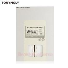 TONYMOLY 5-Layer Cotton Sheet 400pcs,TONYMOLY