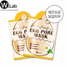 W.LAB Egg Pore Mask 23g*10ea,W.LAB