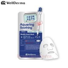 WELLDERMA Aquaring Soothing Weekly Smart Facial Mask Sheet 25ml*10ea,WELLDERMA