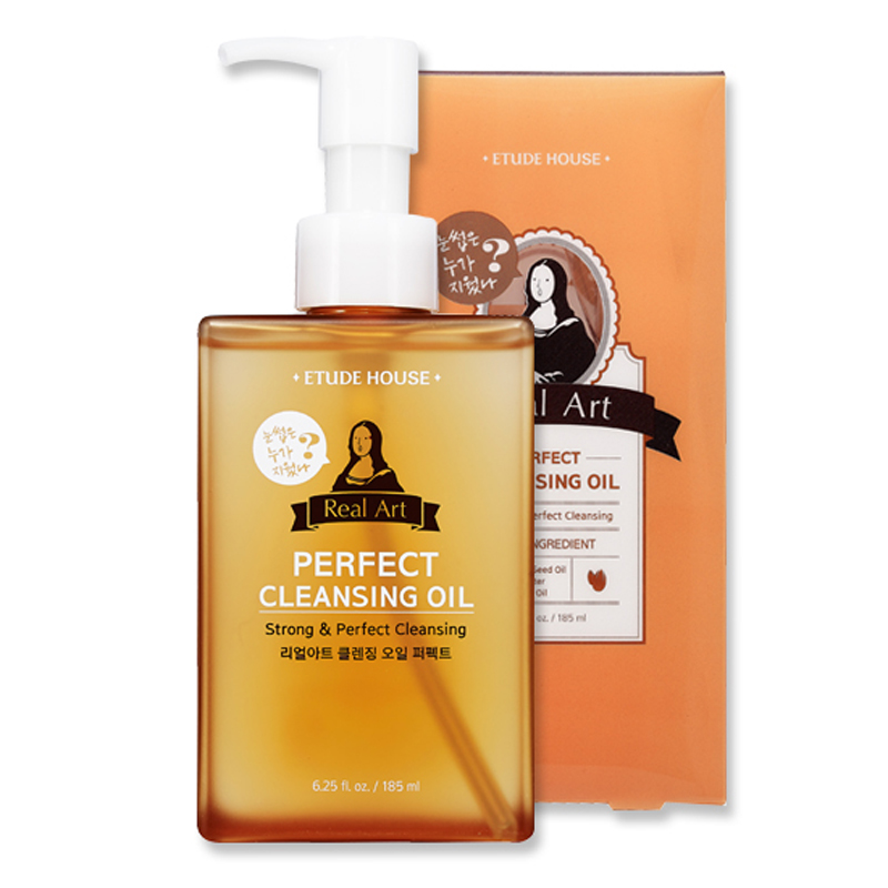 Own label brand, [ETUDE HOUSE] NEW Real Art Cleansing Oil 185ml #Perfect (Weight : 282g)