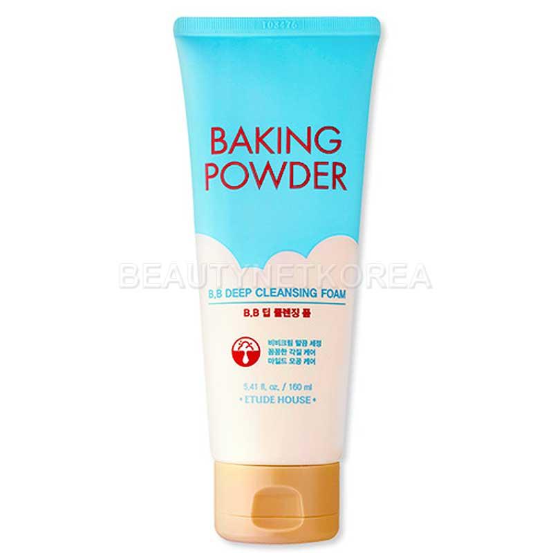 Own label brand, [ETUDE HOUSE] Baking Powder BB Deep Cleansing Foam 160m l (Weight : 193g)