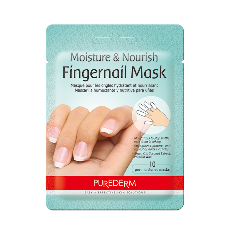 Own label brand, [PUREDERM] Moisture & Nourish Fingernail Mask 3g (Weight : 11g)